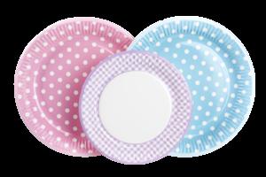 talerzyki papierowe paper plates POL-MAK
