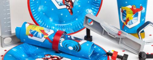zestaw Super Heroes POL-MAK set