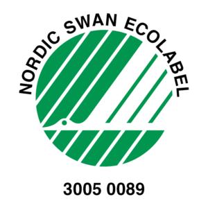 SWAN Nordic Ecolabel POL-MAK licence logo